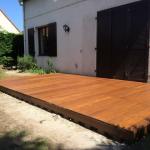 Creation d'une terrasse en bois pour embelir votre exterieur 0001