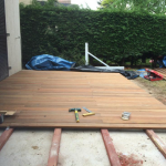 Creation d'une terrasse en bois pour embelir votre exterieur 0004