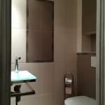 salle de bains contemporaine avec batiprestige