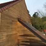vue exteieure d'un bardage en bois - profitez de votre habitation