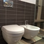 wc + evier contemporain