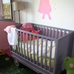 creation lit bois enfant avec sa cabane