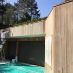 renovation maison bois  Dégrisement et saturateur coloris gris - pensez à votre maison