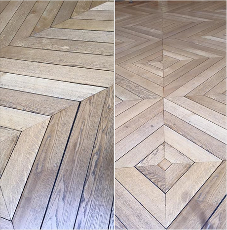 Batiprestige agencement r novation parquet en point de for Carrelage metro parisien